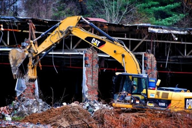 Buncombe County begins demolition of CTS plant in Mills Gap (at taxpayer expense)