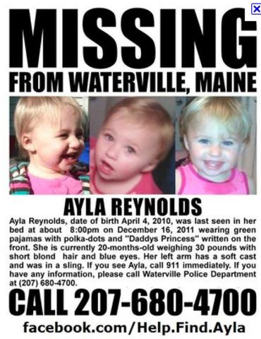 The Ayla Reynolds Case timeline | Timetoast timelines