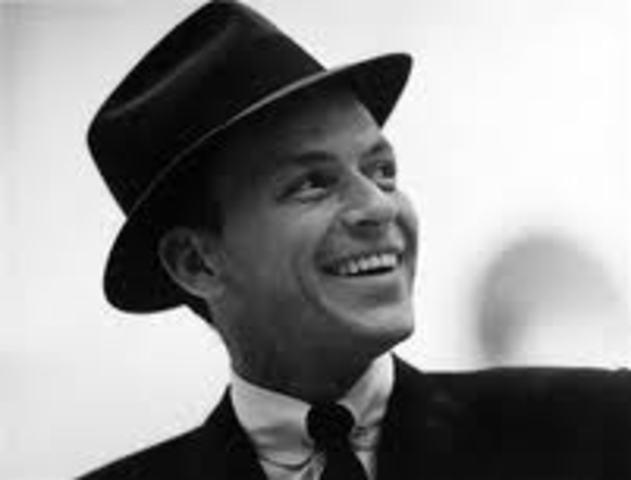 Frank Sinatra is pop's first star