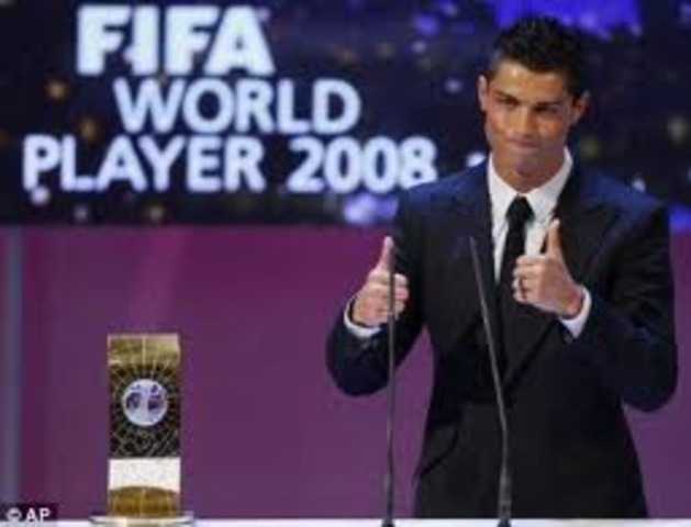 Christiano Ronaldo win best player of the year