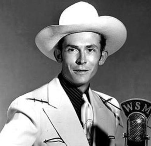 Hank Williams Born