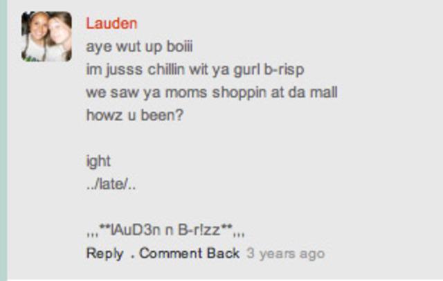 Mall trip