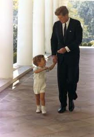 Birth of John F. Kennedy, Jr