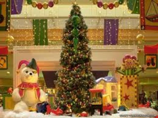 Abr(i) los regalos en Christmas