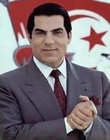 Zine El Abidine Ben Ali Flees Tunisia