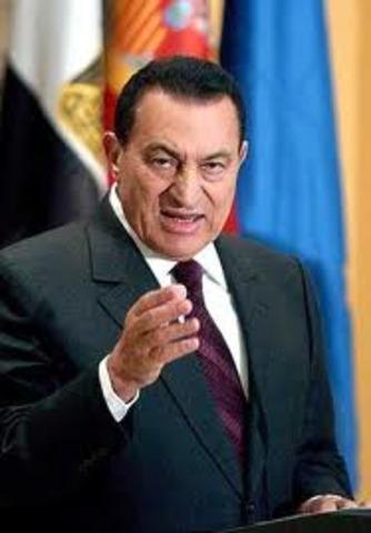 Hosni Mubarak Resigns