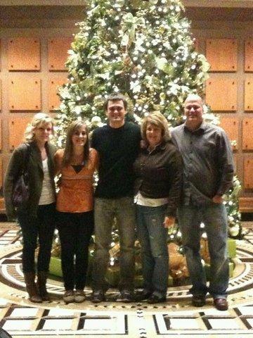 Mi familia y yo nos mudamos a Indiana el 16 de junio.
