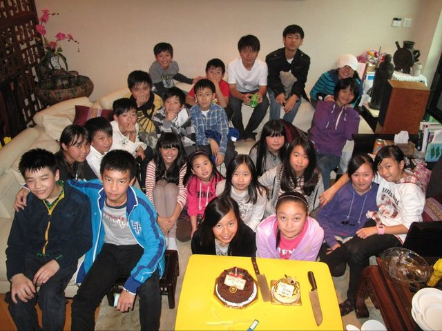 My 12th birthday party