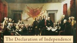 French-Indian war 1963-Declaration of independence being signed 1776 timeline
