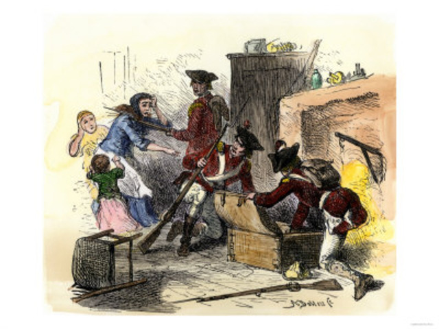 The Quartering Act.