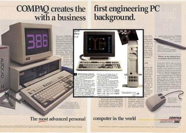 Compaq supera a IBM