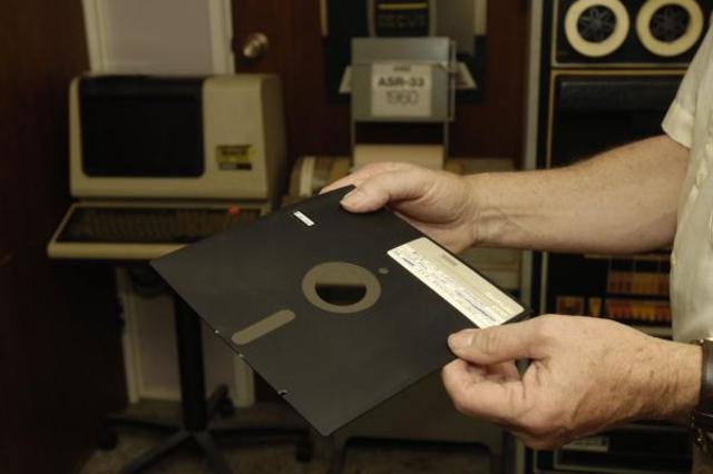 Invención del disquete