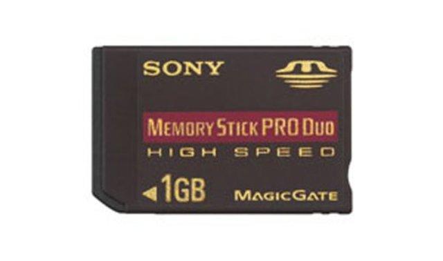 Lanzamiento de la Memory Stick