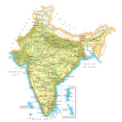 History of India timeline