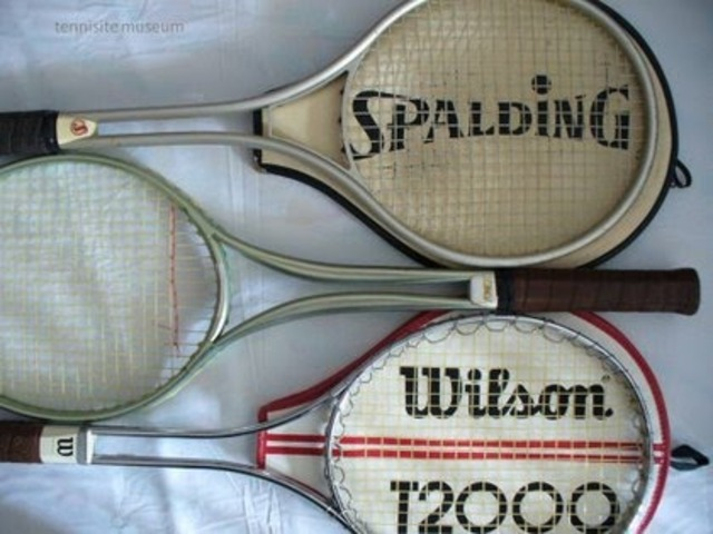 The First Metal Tennis Racquet
