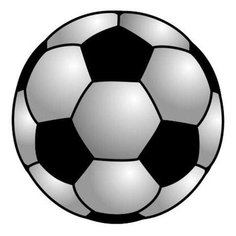 soccer ball used at the beginning