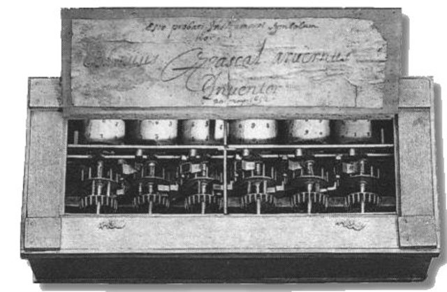 the history of the computer from blaise pascals first computer in 1642 Blaise pascal was the third of Étienne pascal's children and his only son blaise's mother died when he was only three years old  he worked on it for three years between 1642 and 1645 the device, called the pascaline, resembled a mechanical calculator of the 1940s  the first in the history of science, it embodies his most distinctive.