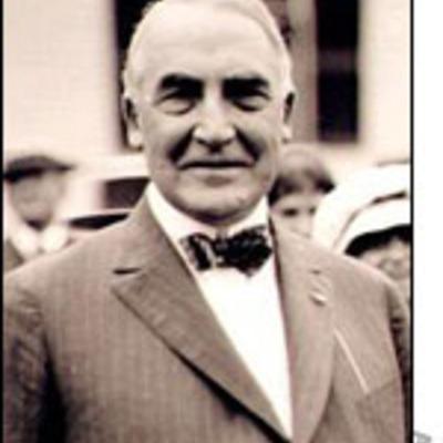 Warren G. Harding 29th President timeline