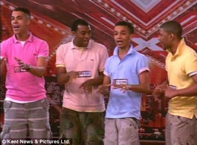 JLS first audition on the Xfactor
