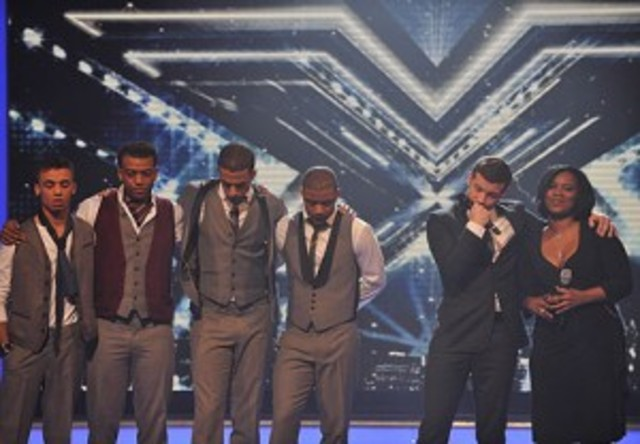 JLS come 2nd in the Xfactor