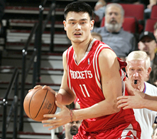 Yao Ming First Drafted Person Not from the U.S.