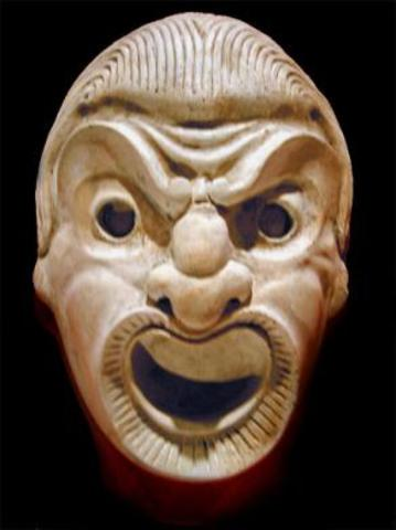 350-250 B.C.E. Hellenistic or Colonial period is an era of Comedy theatre
