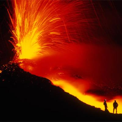5 Most Catastrphoic Volcanoes timeline