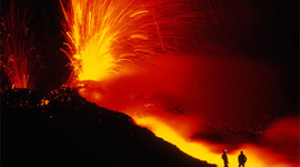 5 Most Catastrphoic Volcanoes timeline