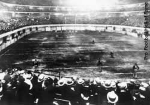 NFL Playoff Game, 1932