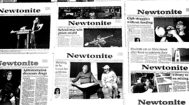 Celebrating 90 Years of the Newtonite timeline