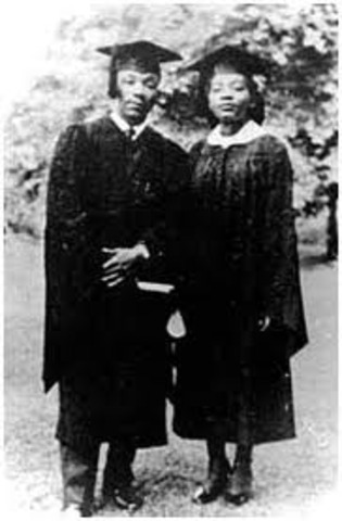 Booker T. Washington High School and was admitted to Morehouse College at age 15.