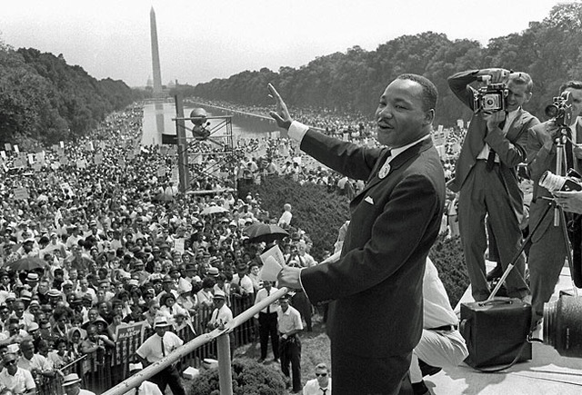 MLK's Speech at the Lincoln Memorial