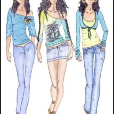 Female Fashion timeline