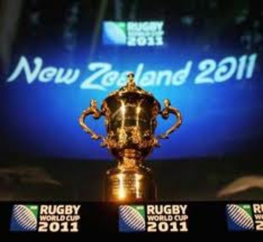 the final of RWC 2011 in NZ