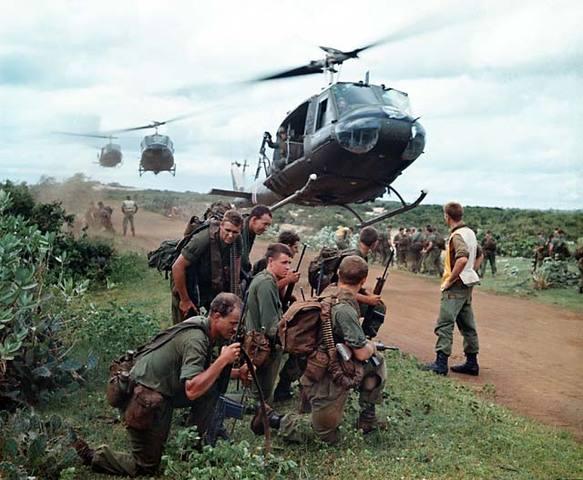 Beginning of the Vietnam War for USA
