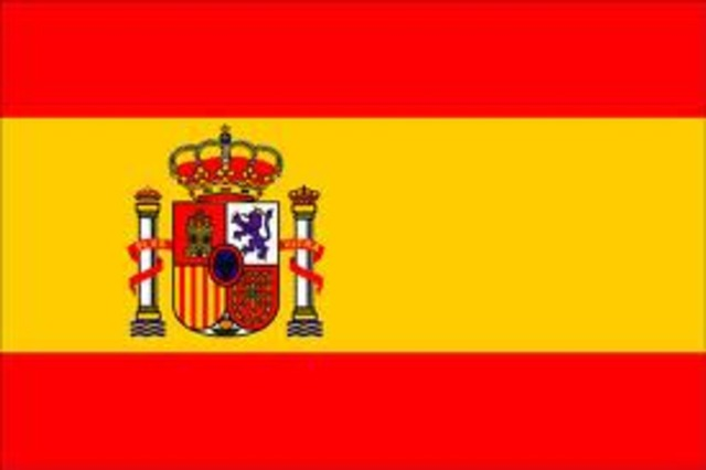 Spain builds a colony and takes over Comanches