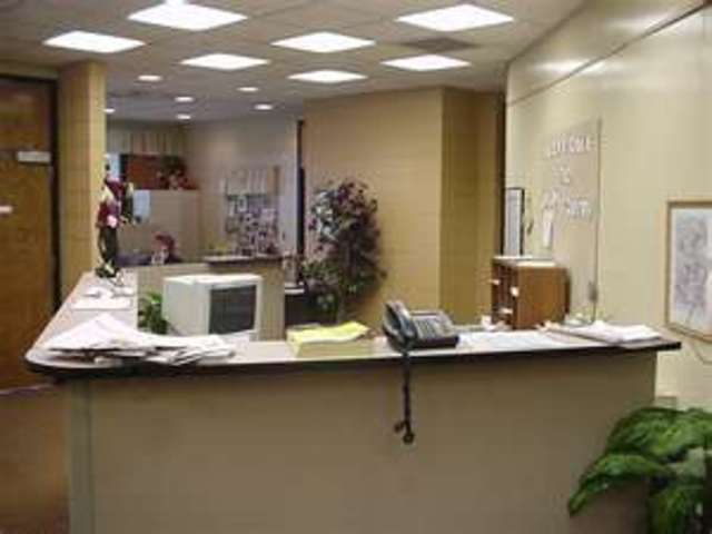 The first time I went to the office