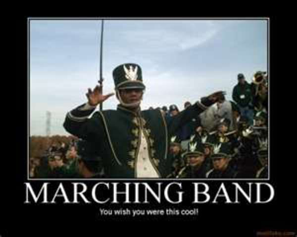 The first time I marched