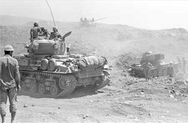 Six-Day Arab/Israeli war