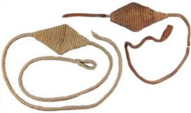 2000 BC  Sling