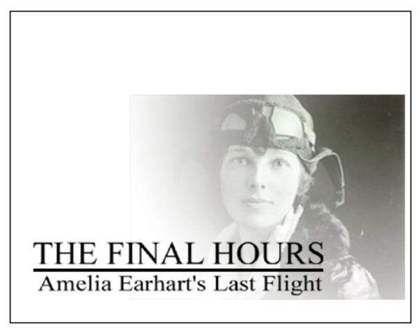 Amelia's Last adventure