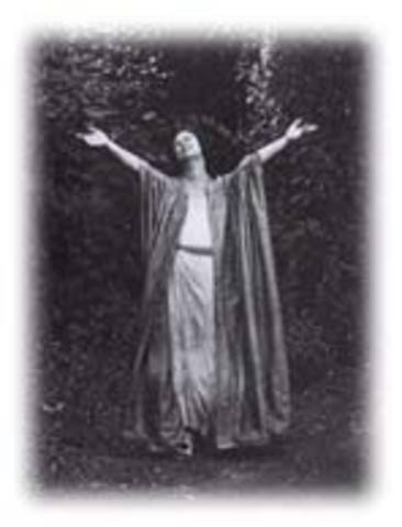 Death of Isadora Duncan