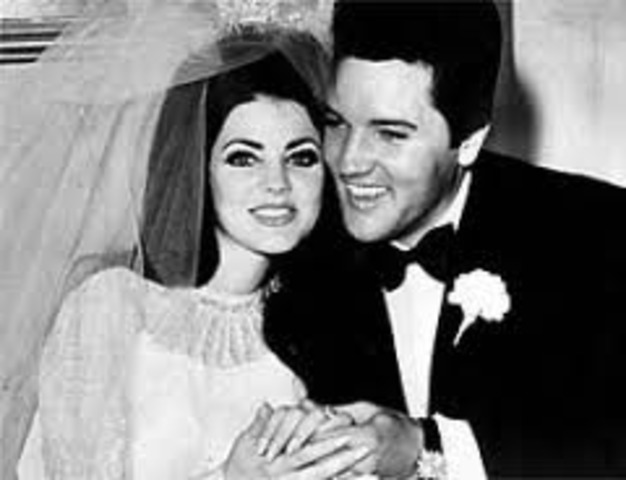 The day Elvis got married