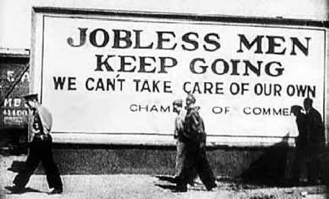 Unemployment in the Worst of the Depression