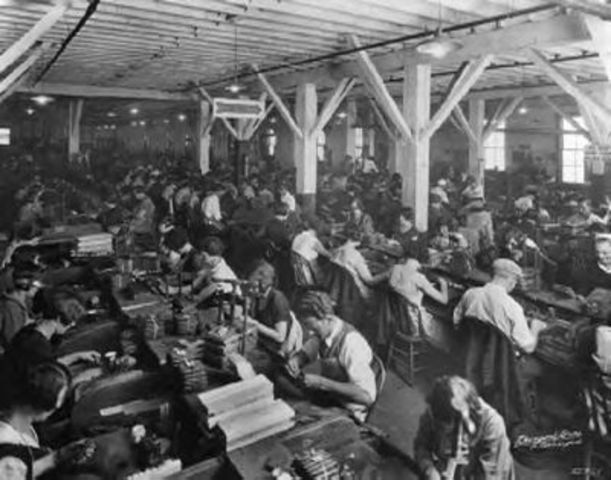 Increase in Factory Workers
