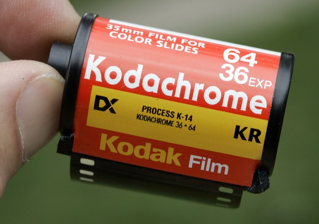 Kodachrome discontinued