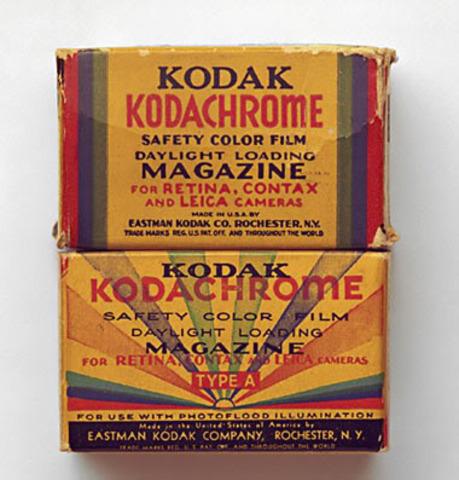 Kodachrome film introduced