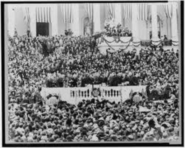 The Day of Woodrow Wilson's Inauguration
