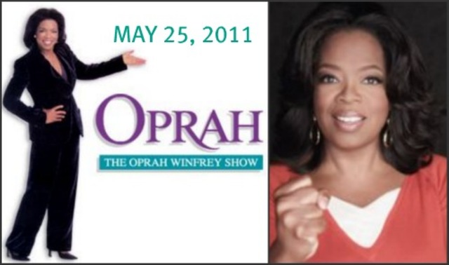 Oprah's show ending ):