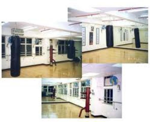 Bruce Lee's first institute